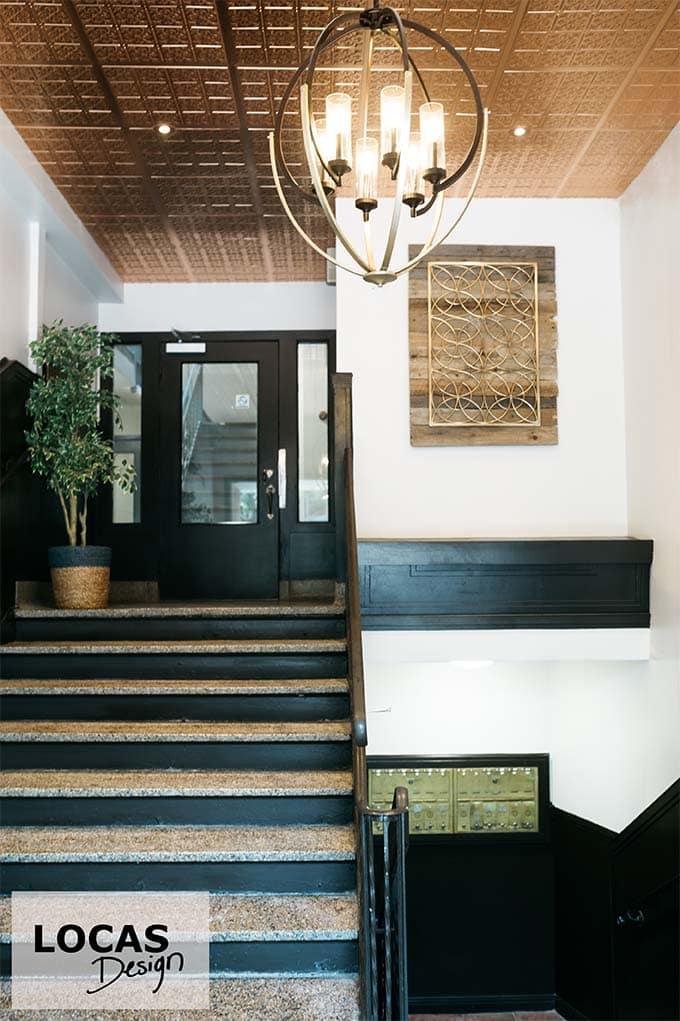 designer interieur immeuble