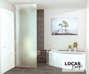design salle de bain comtemporaine