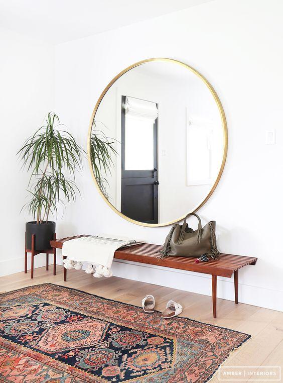 Grand miroir entree