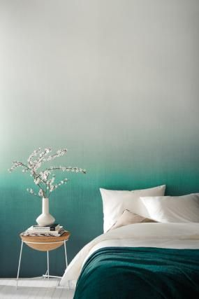 mur accent ombre bleu