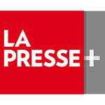 Logo La Presse+ (Groupe CNW/LA PRESSE)