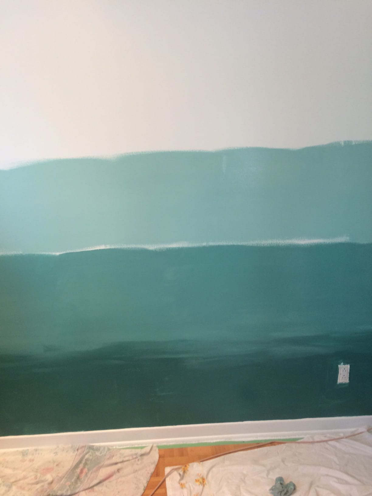 etape mur degrade